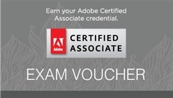 Adobe Certified Associate Test Voucher with Retake