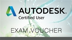 AutoDesk Certified User Test Voucher