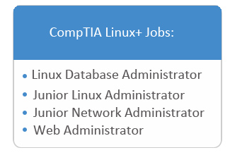 comptia linux + available jobs